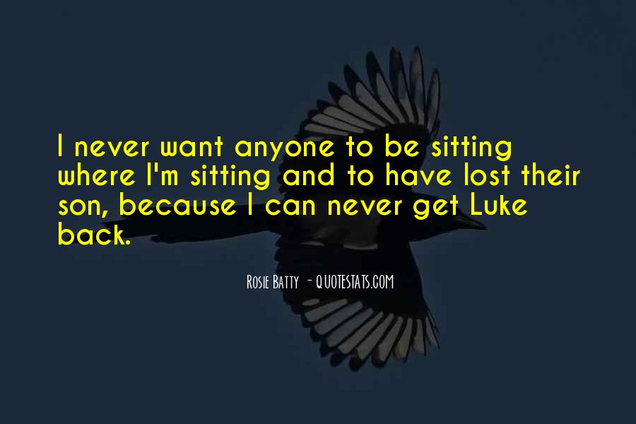 Quotes For Someone Who Lost Her Son #637243