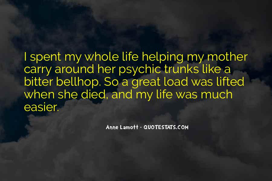 Quotes For Someone Whose Mother Died #303336
