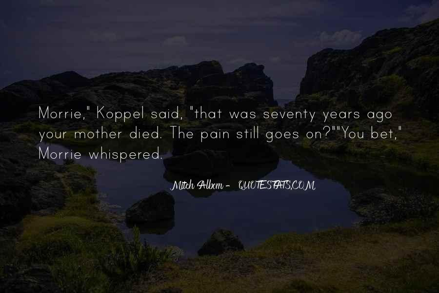 Quotes For Someone Whose Mother Died #42179