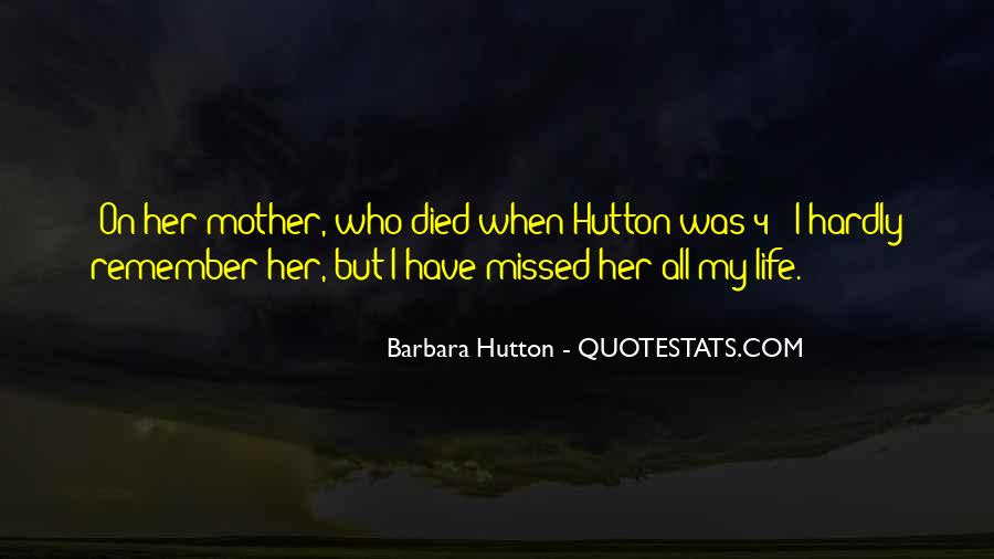 Quotes For Someone Whose Mother Died #99116