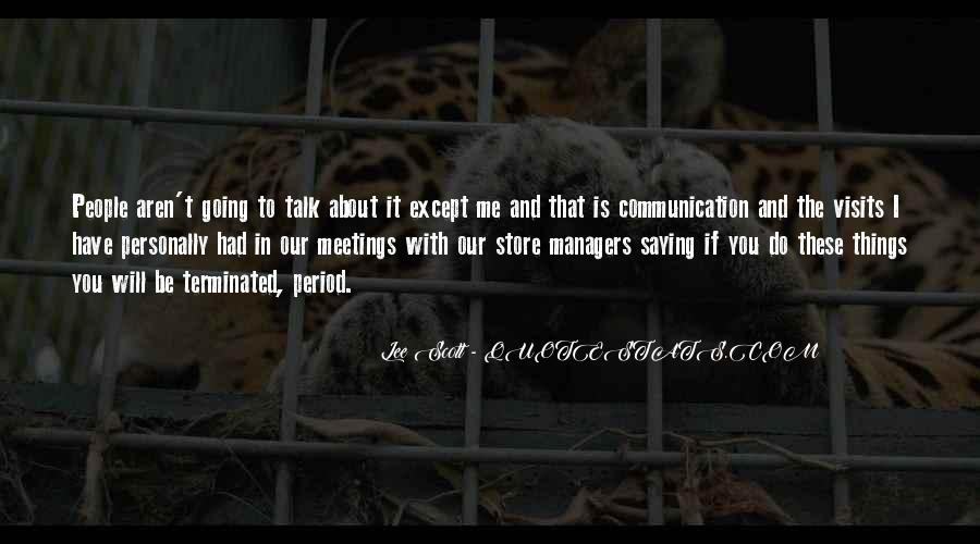 Quotes For Store Managers #1700873