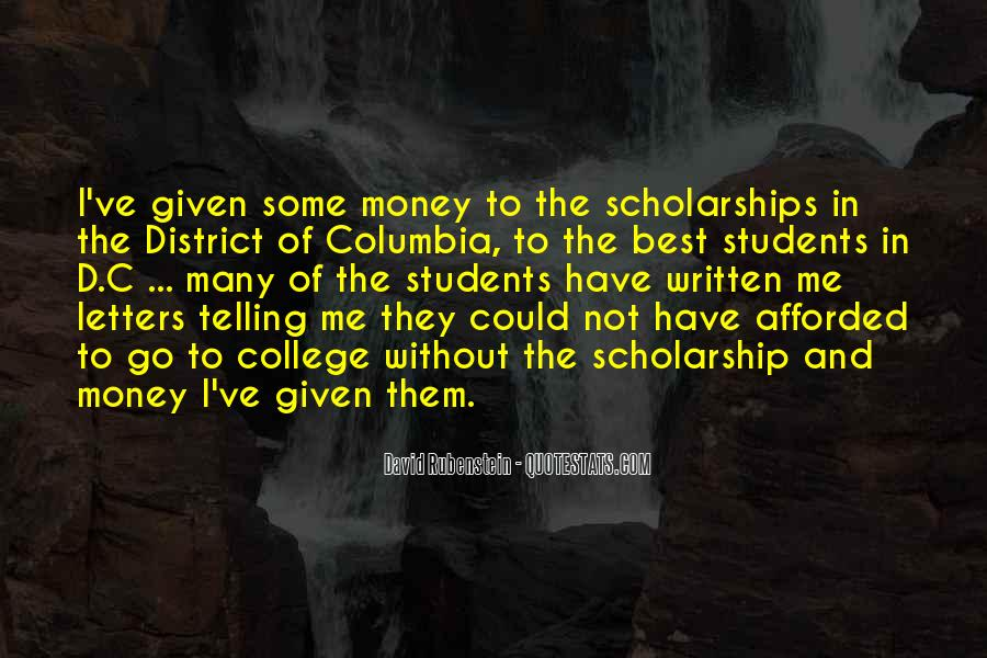 Quotes For Students In College #356432