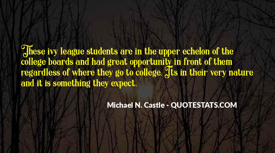 Quotes For Students In College #657656