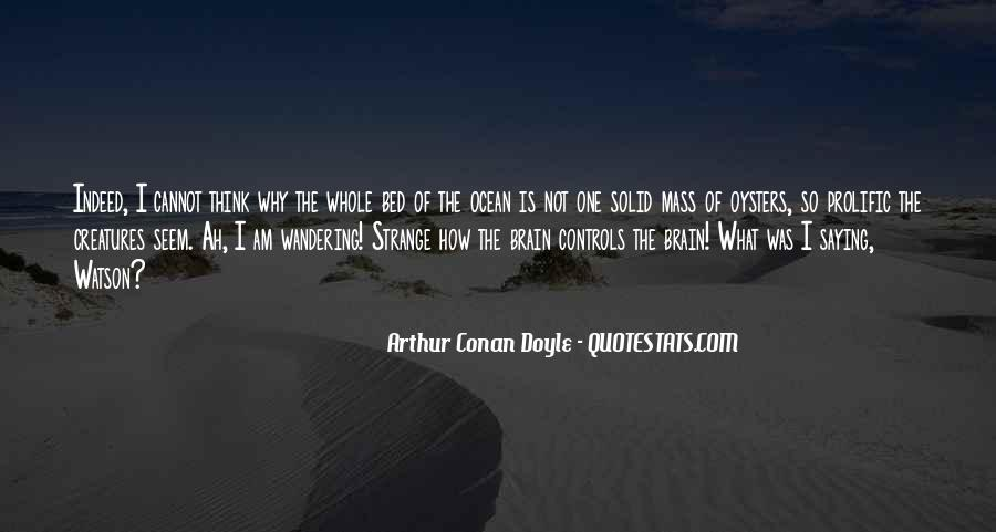 Quotes About Ocean Creatures #1103952
