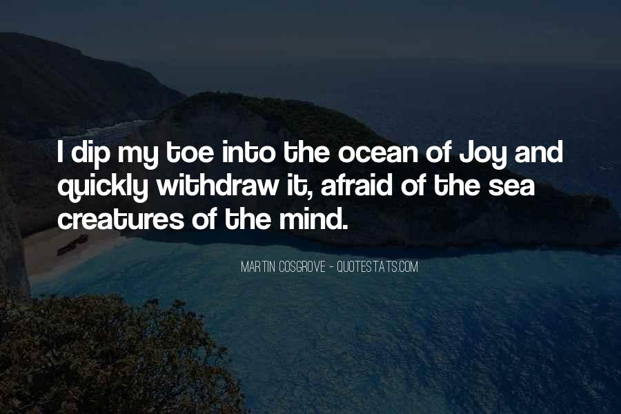 Quotes About Ocean Creatures #1283500
