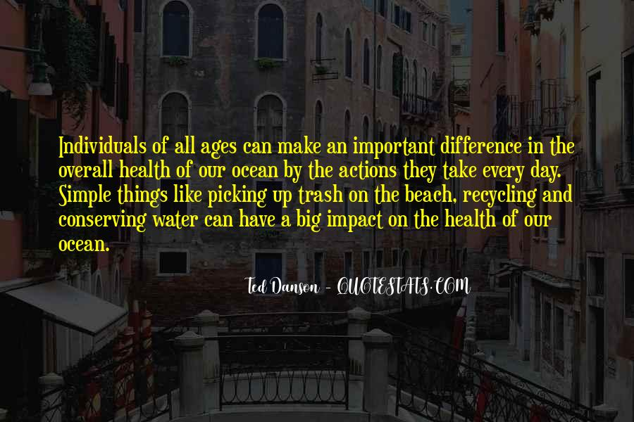 Quotes About Ocean Beach #1640662