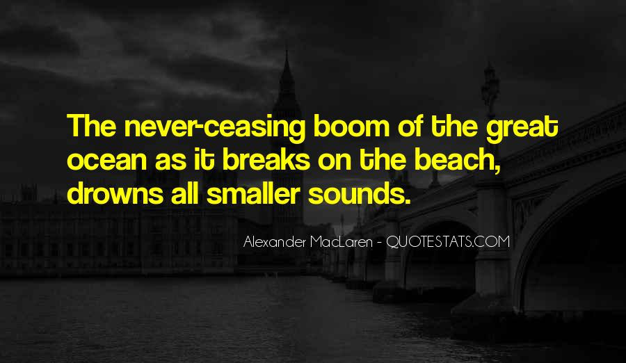Quotes About Ocean Beach #1723232