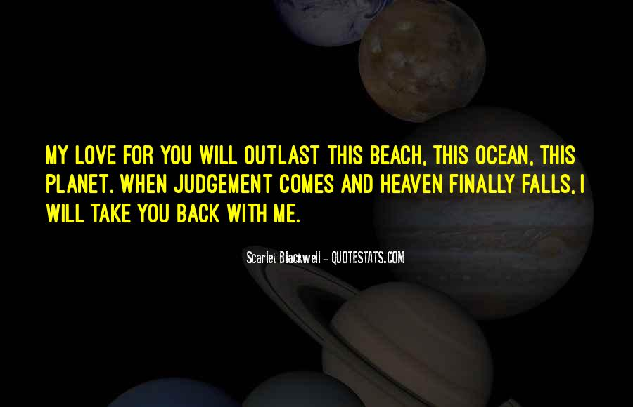 Quotes About Ocean Beach #1865250