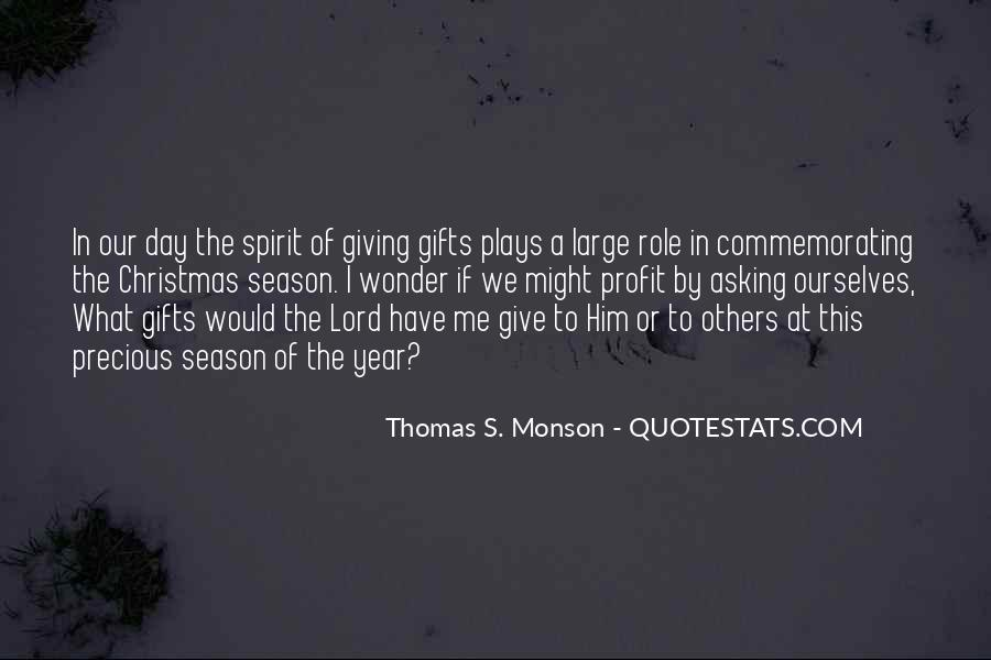 Quotes For The Christmas Season Of Giving #1733625