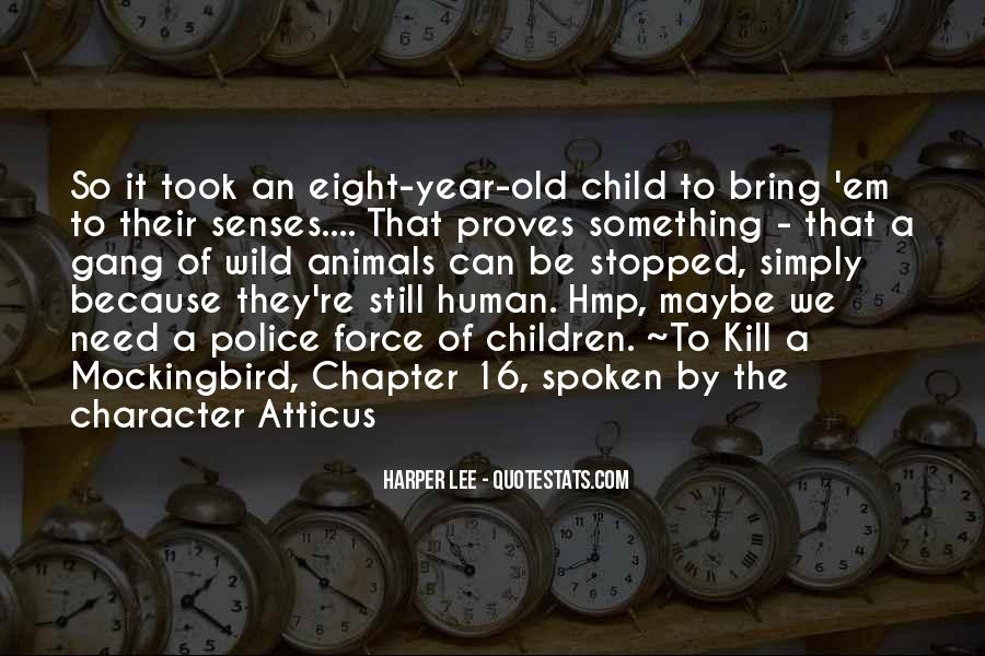 Quotes For To Kill A Mockingbird Chapter 4 #1234494