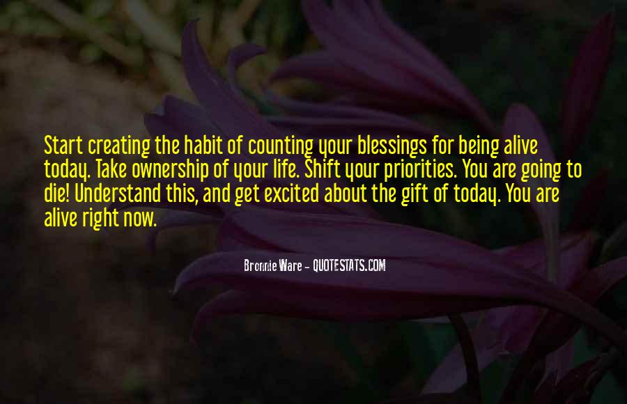 Quotes For Today About Life #1636703