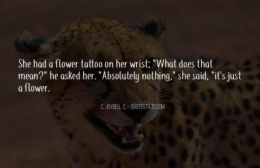 Quotes For Wrist Tattoos #1234966