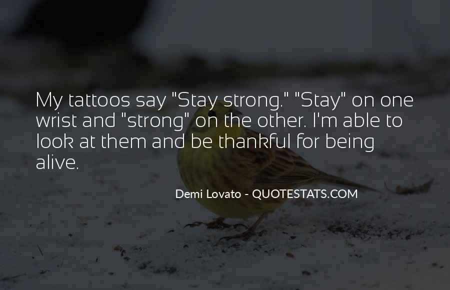 Quotes For Wrist Tattoos #1747918
