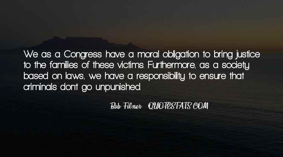 Quotes About Obligation And Responsibility #1334039