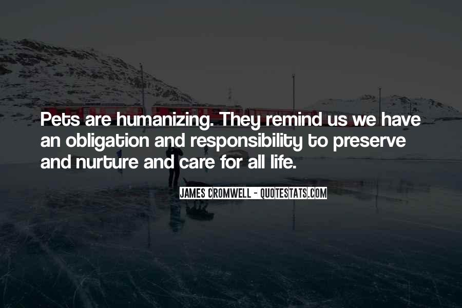 Quotes About Obligation And Responsibility #15681