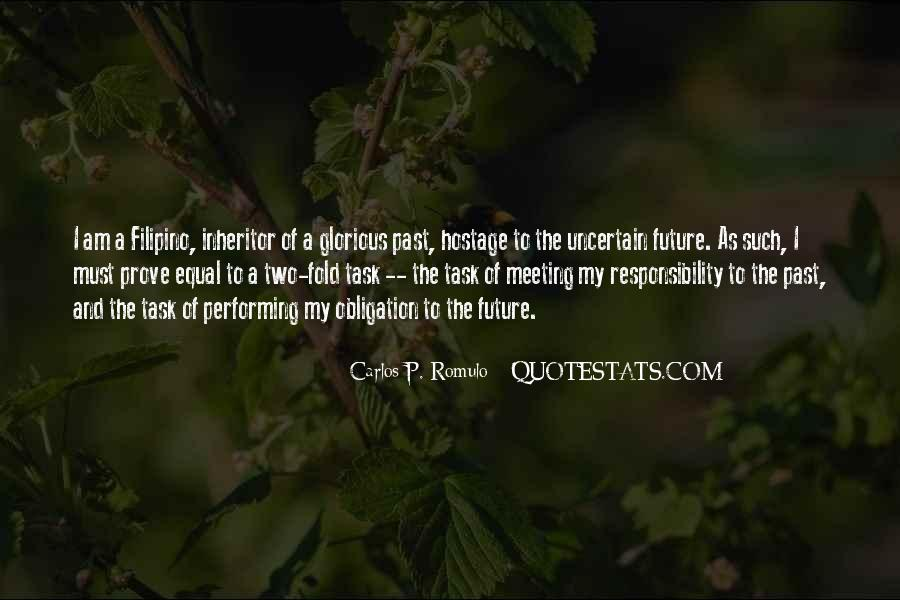 Quotes About Obligation And Responsibility #1598957