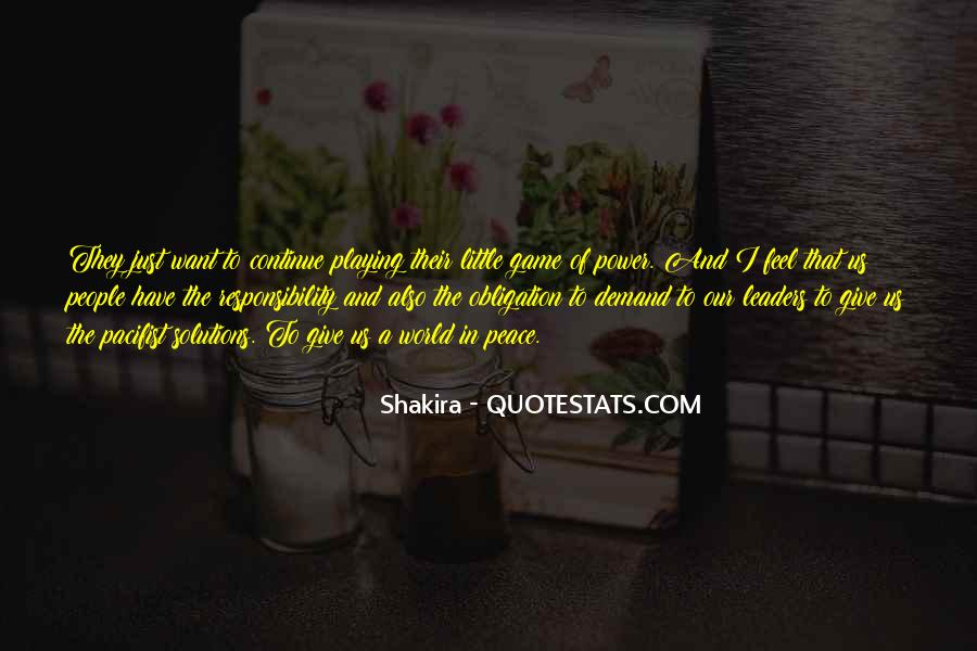Quotes About Obligation And Responsibility #1719030