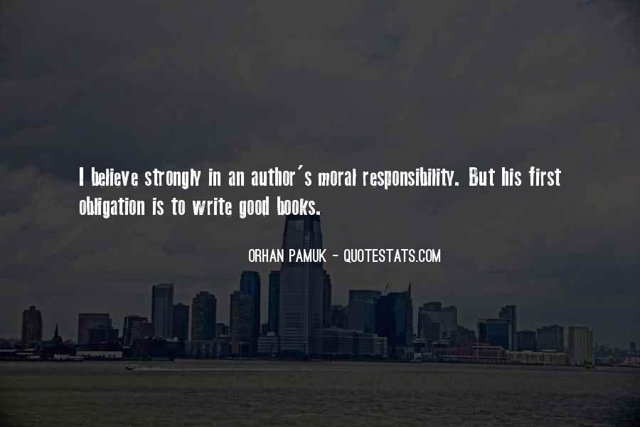 Quotes About Obligation And Responsibility #20945