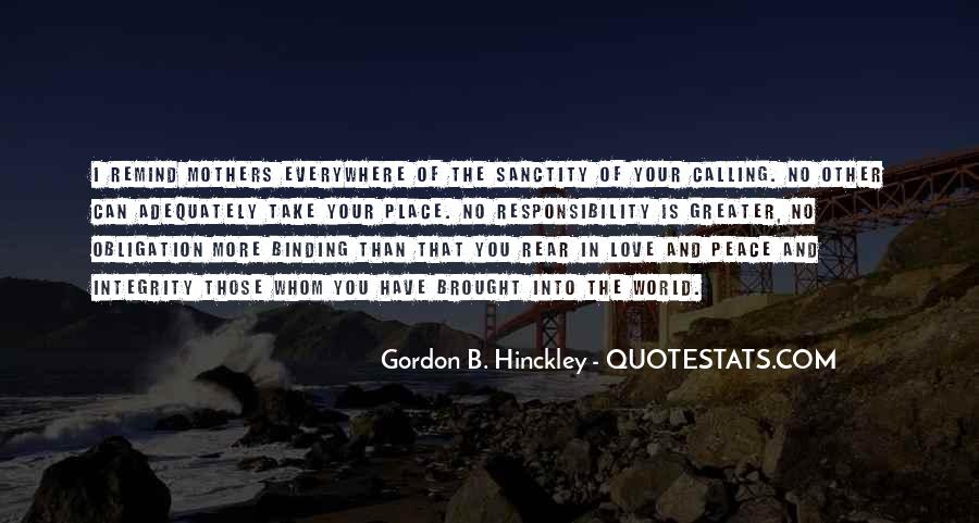Quotes About Obligation And Responsibility #730049
