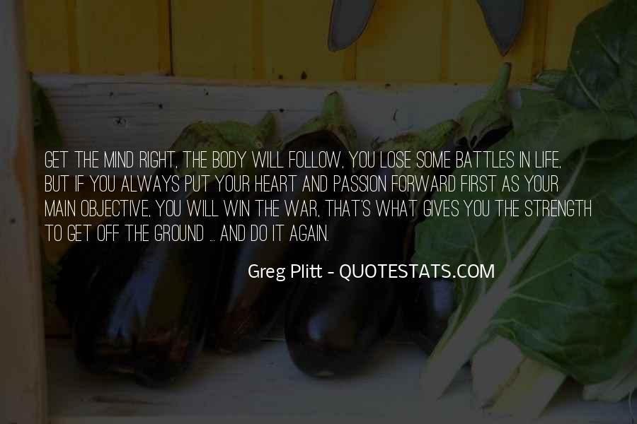 Quotes About Objective In Life #1419715