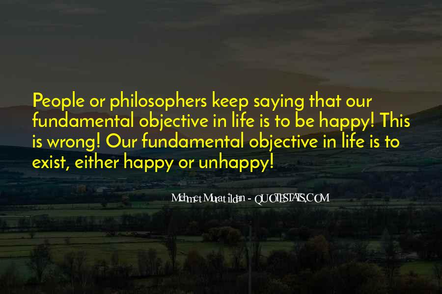 Quotes About Objective In Life #296692
