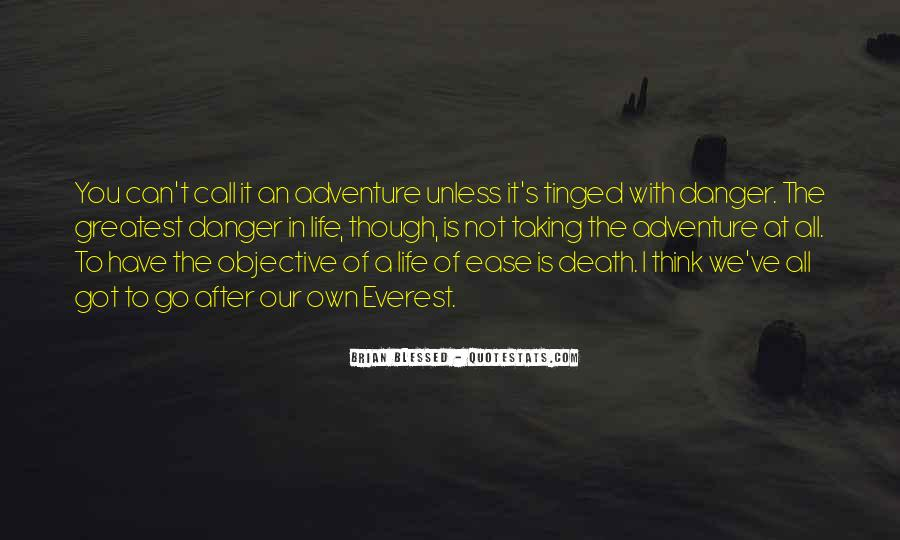 Quotes About Objective In Life #865212