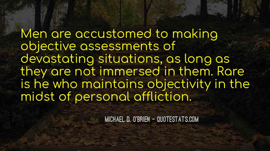 Quotes About Objective In Life #881642