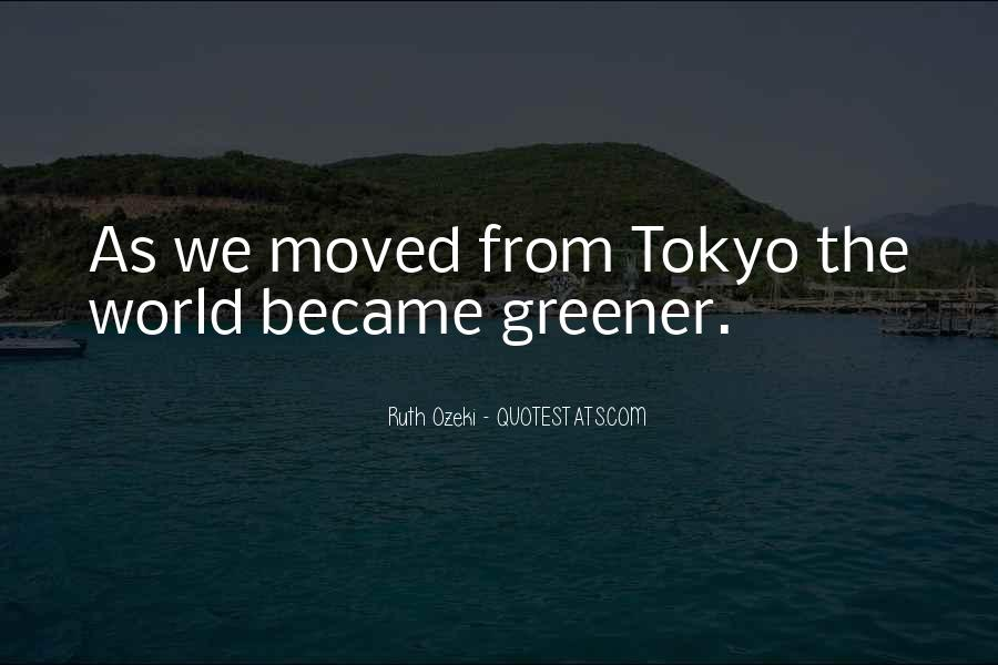 Quotes On A Greener World #1840807