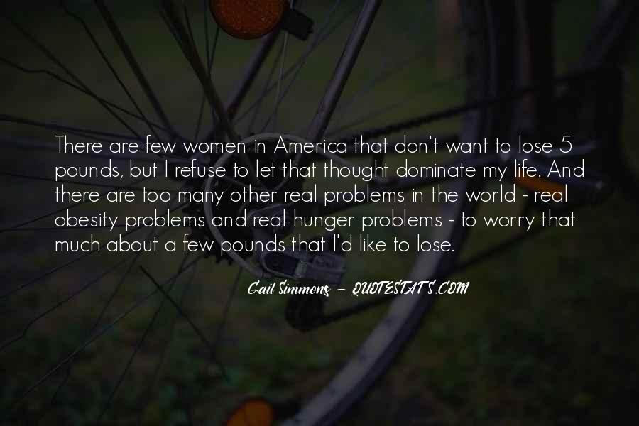 Quotes About Obesity In America #161311