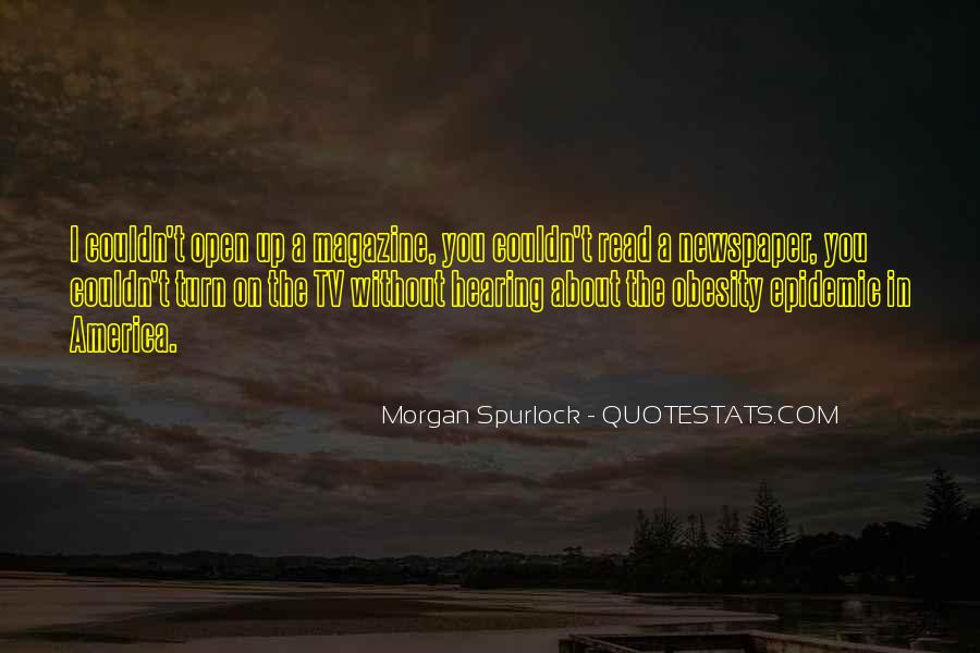 Quotes About Obesity In America #391662