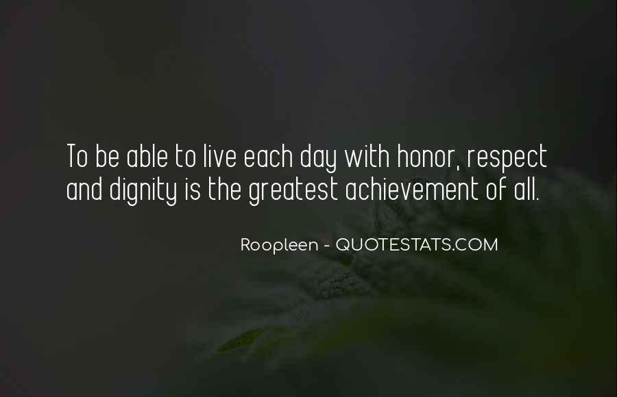 Quotes On Achievement Success #109034