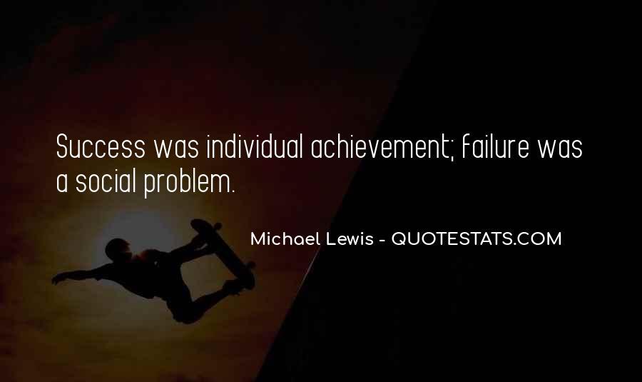 Quotes On Achievement Success #129442
