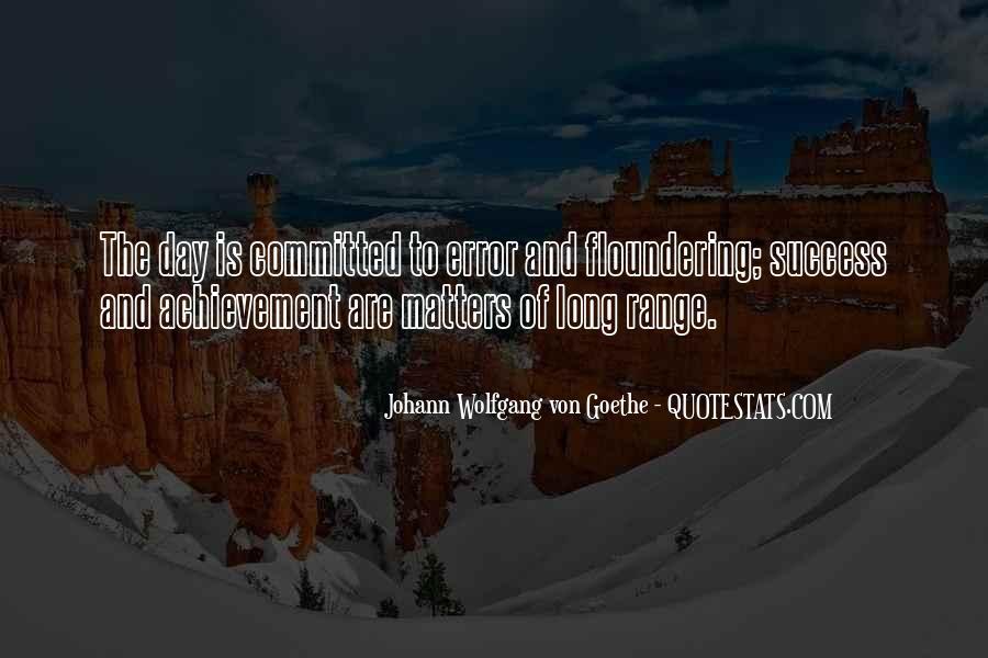 Quotes On Achievement Success #141868
