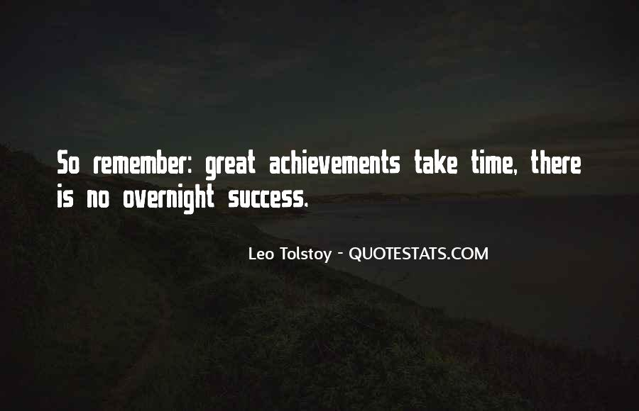 Quotes On Achievement Success #14476