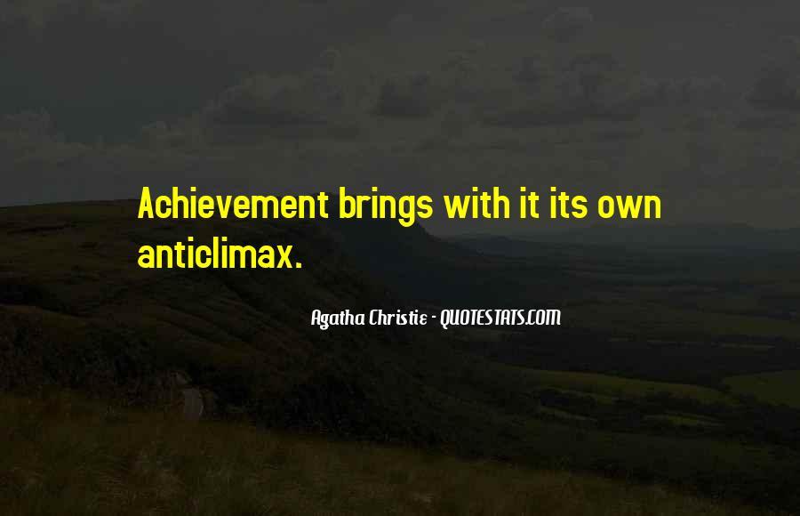 Quotes On Achievement Success #156285