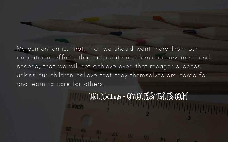 Quotes On Achievement Success #160988