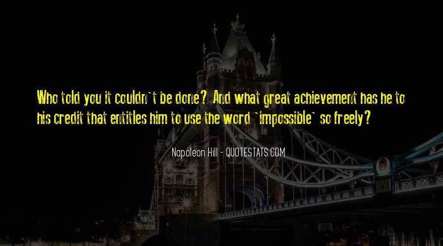 Quotes On Achievement Success #17159