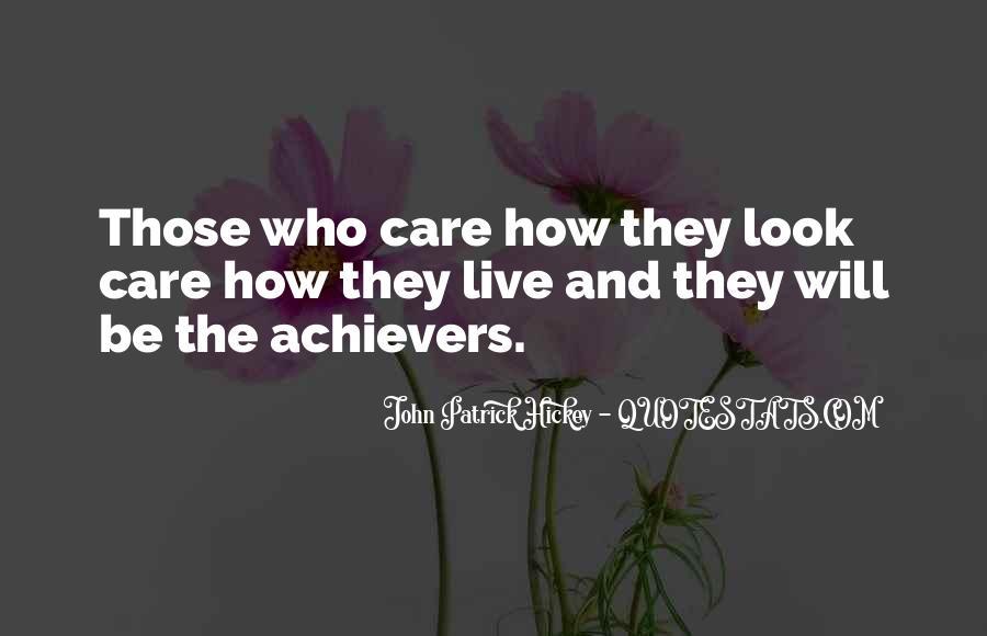 Quotes On Achievement Success #190600