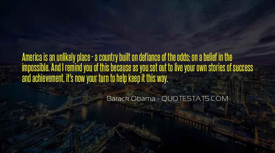 Quotes On Achievement Success #192257