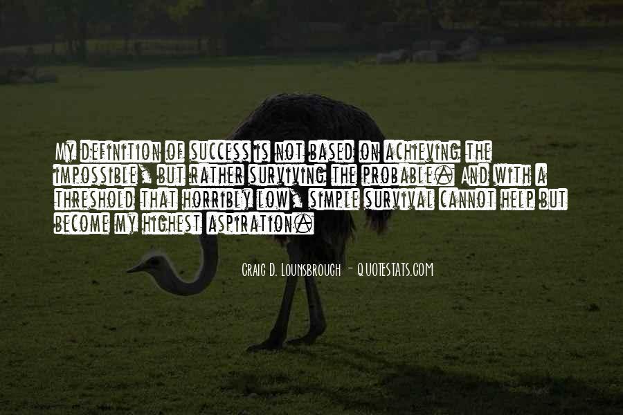 Quotes On Achievement Success #197394
