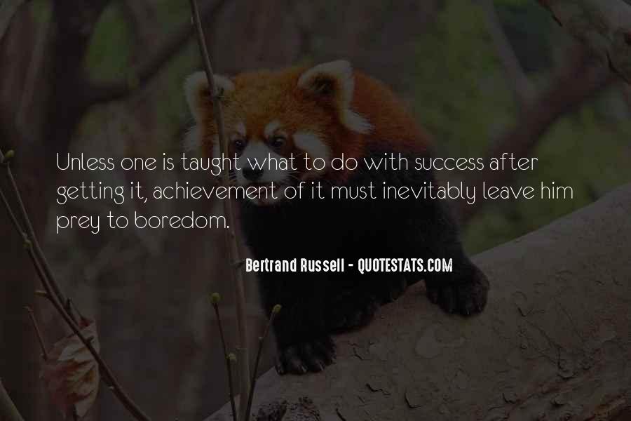 Quotes On Achievement Success #20674