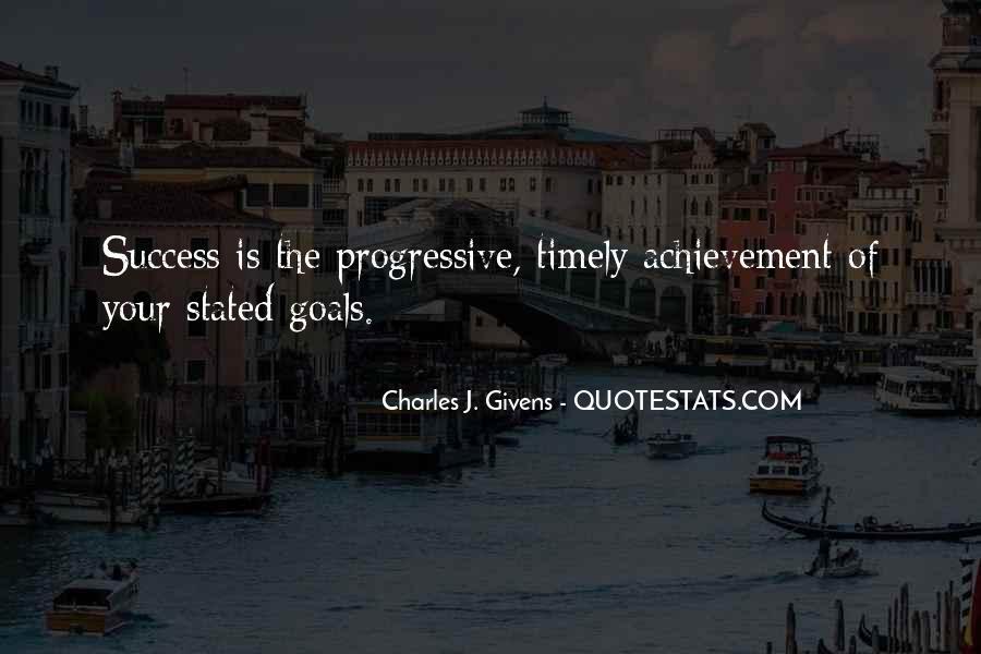 Quotes On Achievement Success #207688