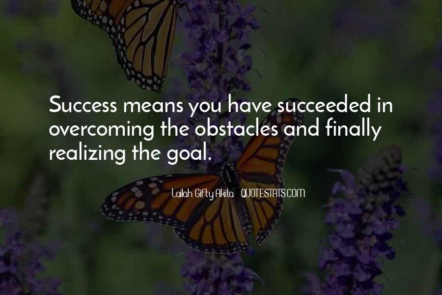 Quotes On Achievement Success #242974
