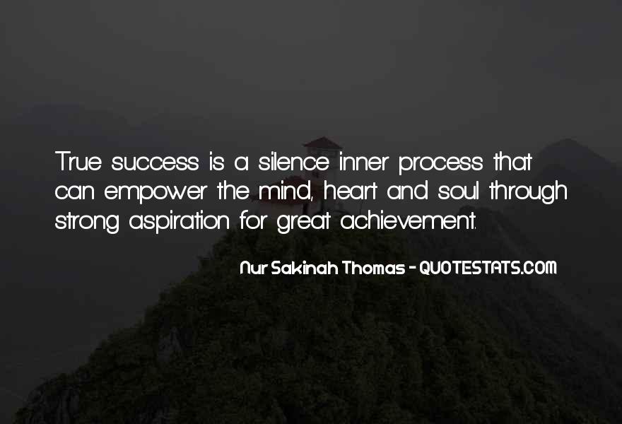 Quotes On Achievement Success #248118