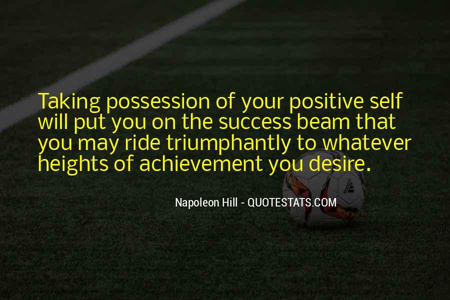 Quotes On Achievement Success #254435