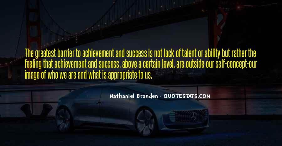 Quotes On Achievement Success #263925