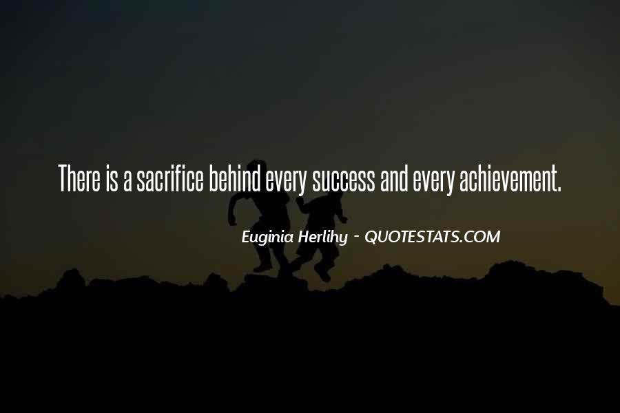 Quotes On Achievement Success #272766
