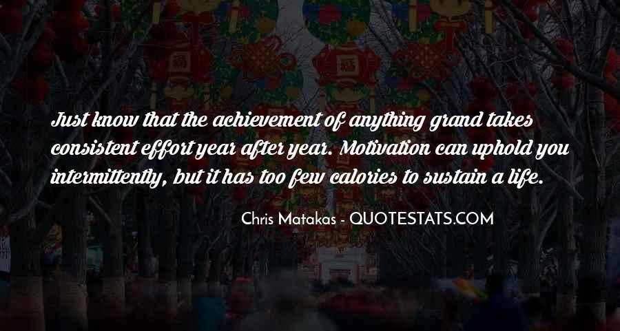 Quotes On Achievement Success #289326