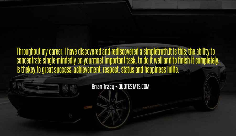 Quotes On Achievement Success #291439
