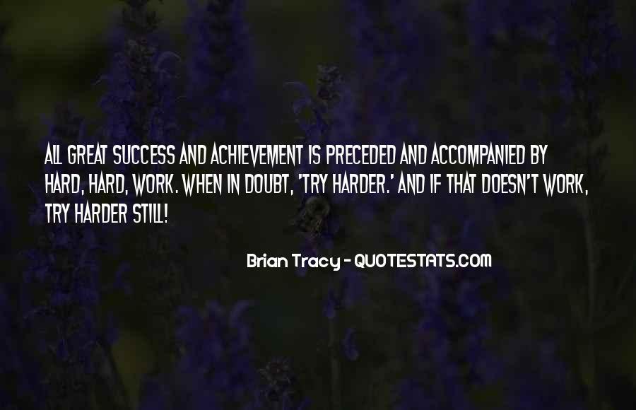 Quotes On Achievement Success #306808